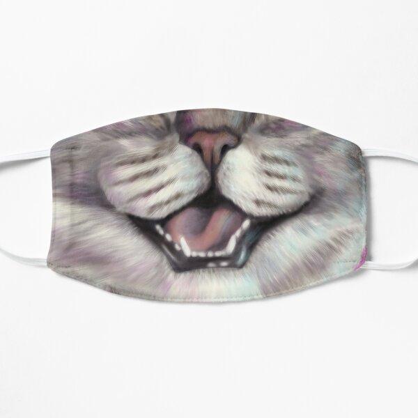 Smiling cat face Flat Mask
