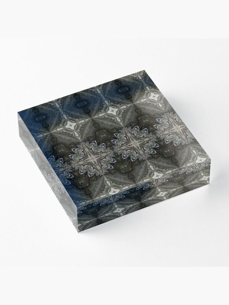 Alternate view of The Greylander Tapestries II Acrylic Block