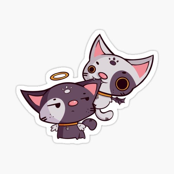 Cheeky Kitties Sticker