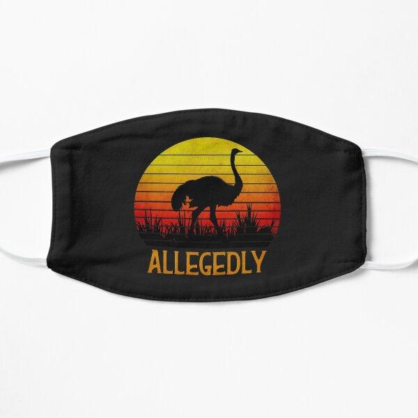 Allegedly Ostrich Flat Mask