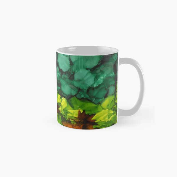 Abstracted Landscape Classic Mug