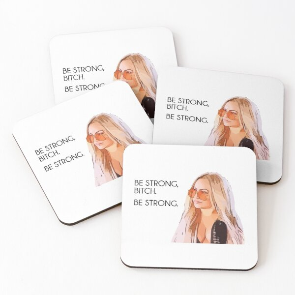 Darcey Be Strong 90 Day Fiance Coasters (Set of 4)