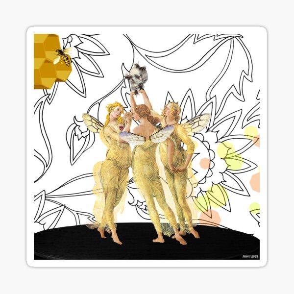 Queen Bees Sticker