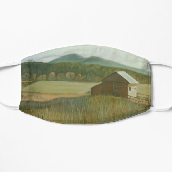 A Country Barn Mask