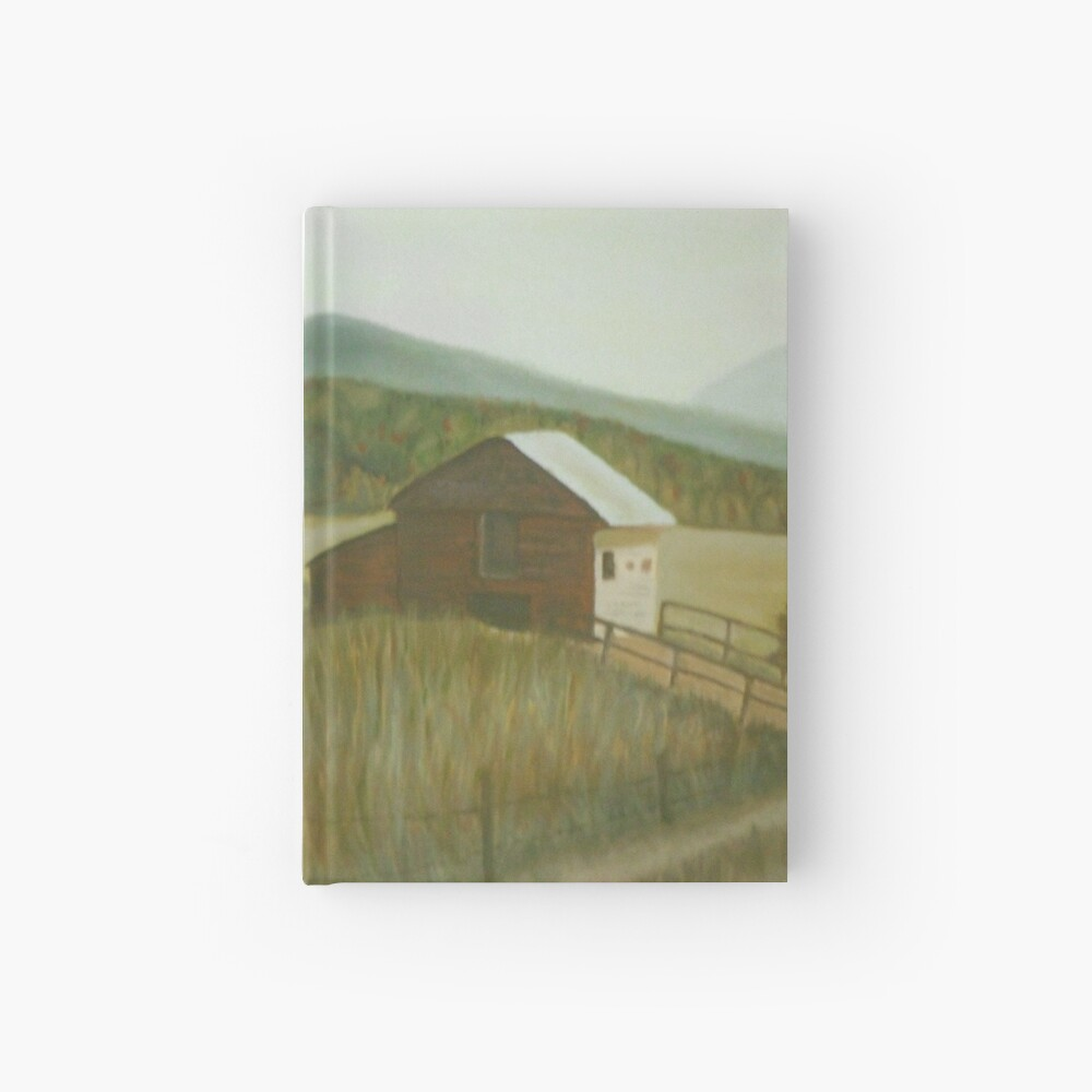 A Country Barn Hardcover Journal