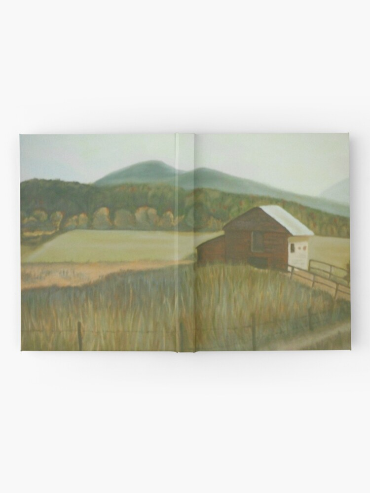 Alternate view of A Country Barn Hardcover Journal