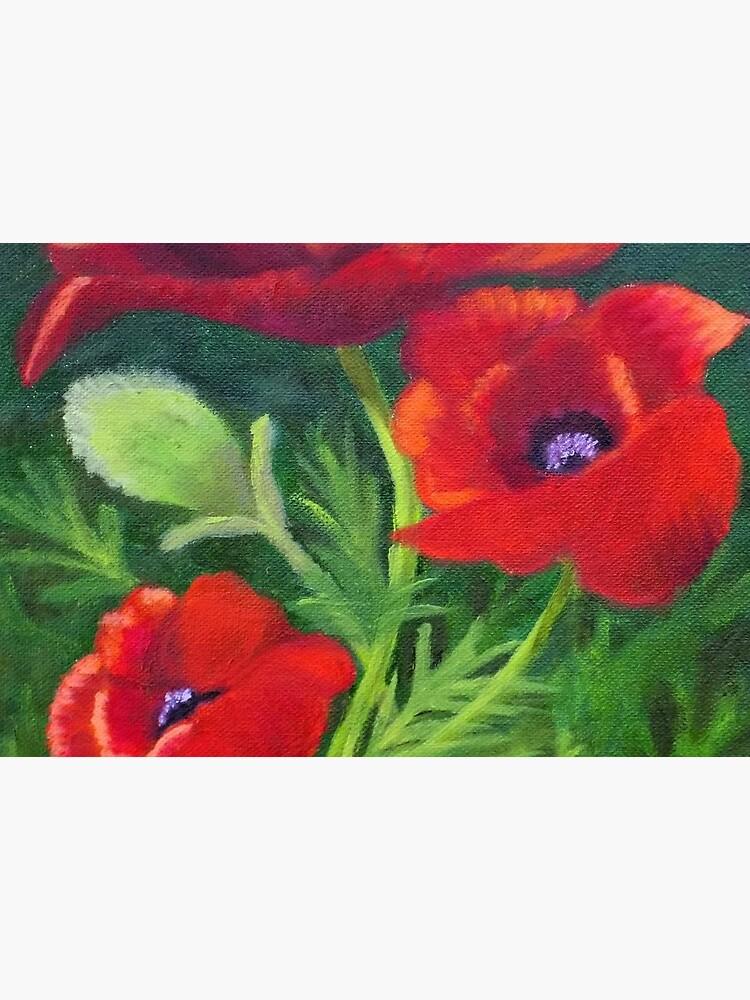 Poppies in the Wild by irenebernhardt