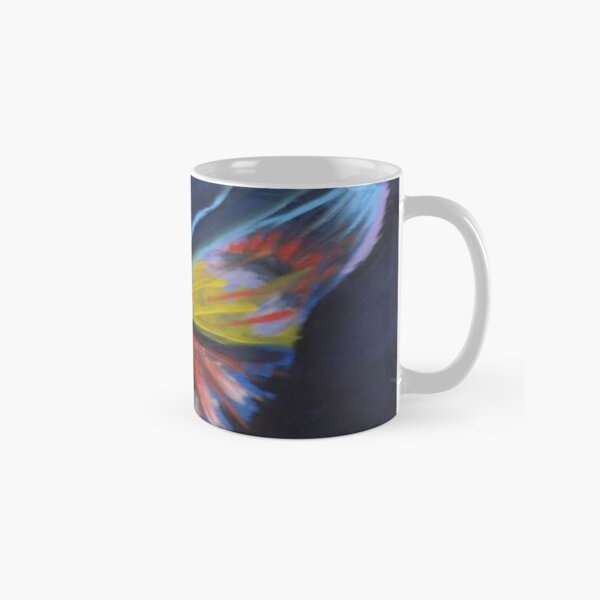 Neon Butterfly Classic Mug