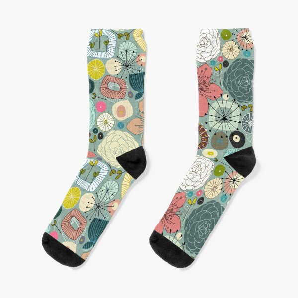 oriental blooms Socks