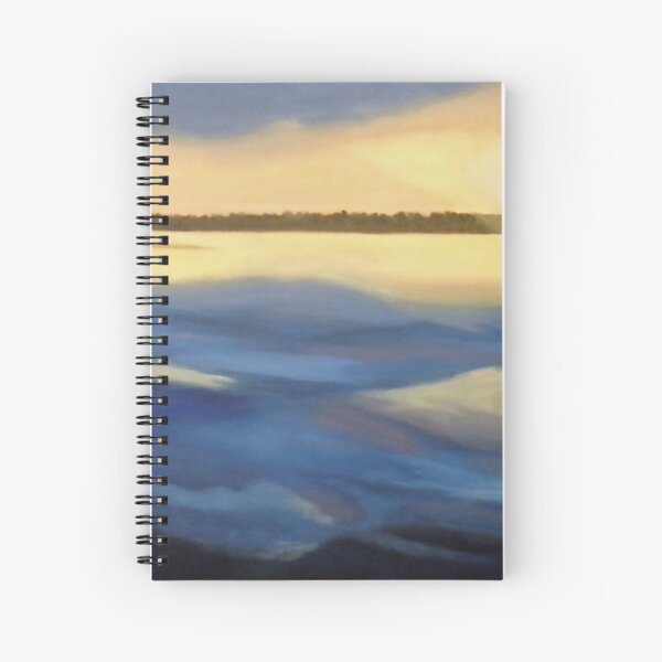Illumination Ocean Painting Spiral Notebook
