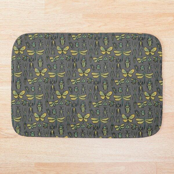 Golden Bugs Bath Mat