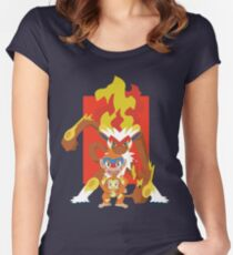 Monkeying Around Women's Fitted Scoop T-Shirt