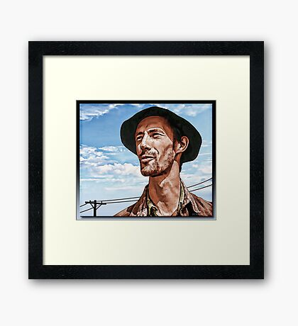 I See A Future - Casy Framed Print