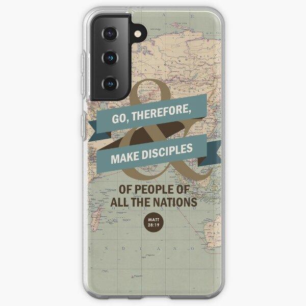 Matthew 28:19 Samsung Galaxy Soft Case