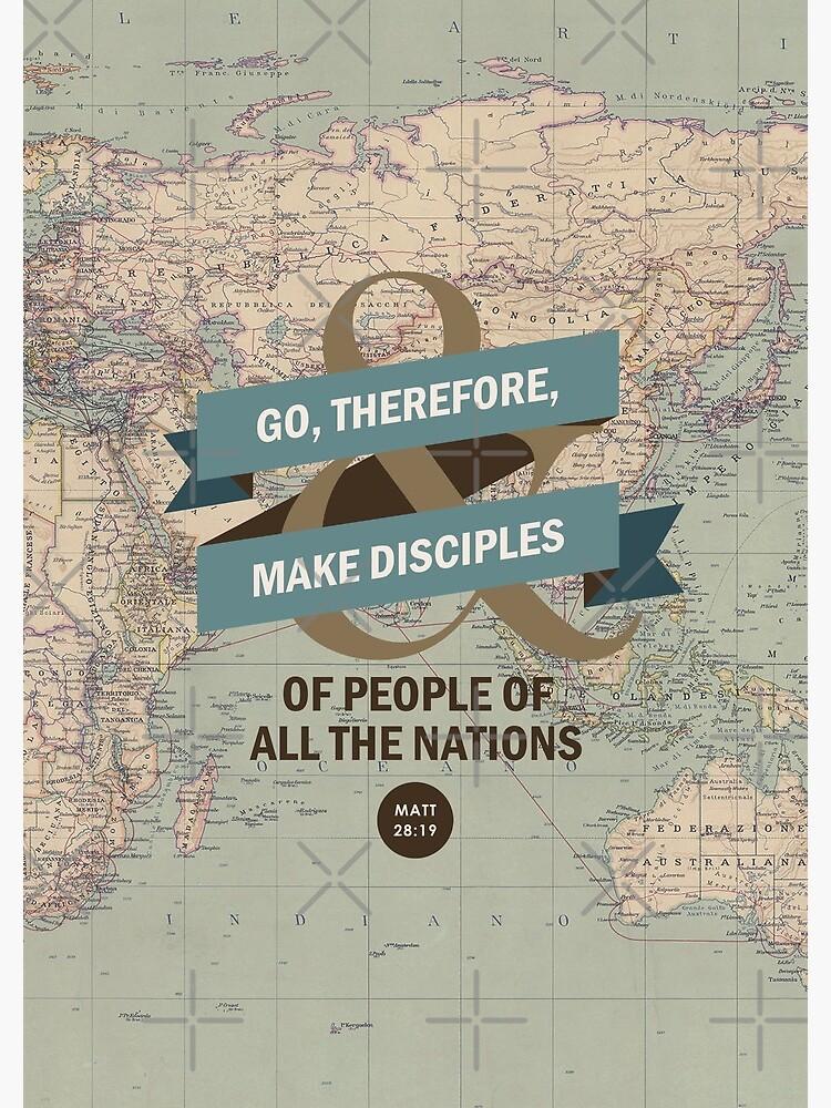 Matthew 28:19 by JenielsonDesign