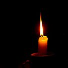 candle of love by lensbaby