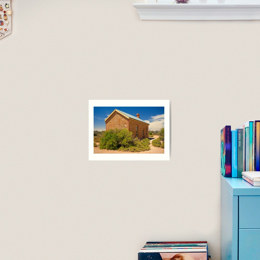 Coward Springs Railway Hut Art Print