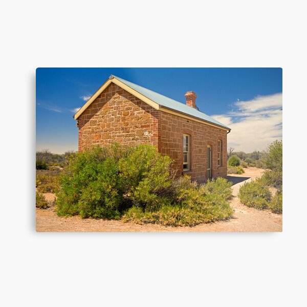 Coward Springs Railway Hut Metal Print