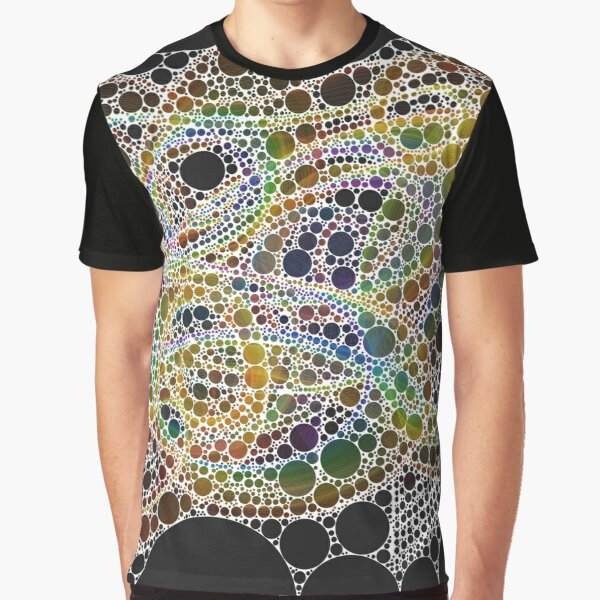 Spectrum Bubbles Graphic T-Shirt
