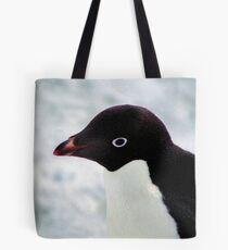 Adelie Penguin Portrait, Cape Adare, Antarctica Tote Bag