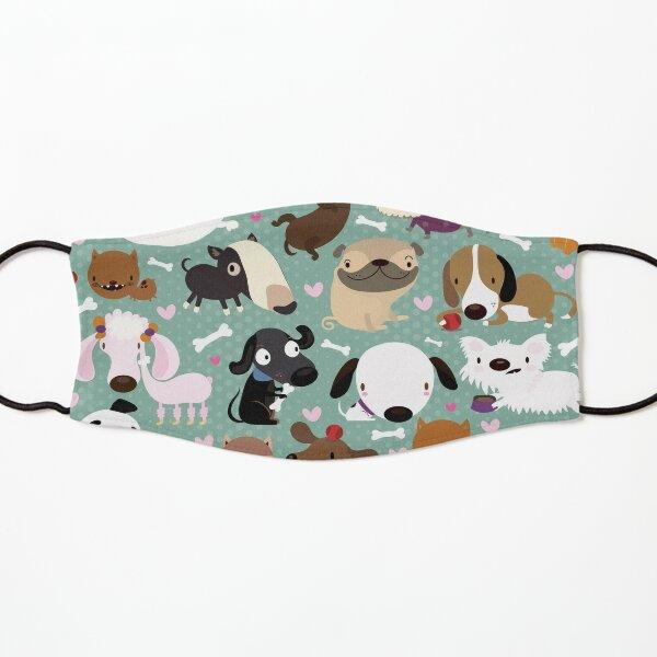 Dog pattern Kids Mask