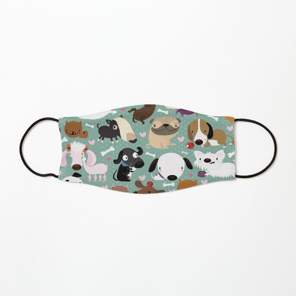 Dog pattern Mask