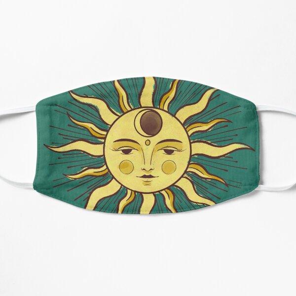 Vintage Sun Flat Mask
