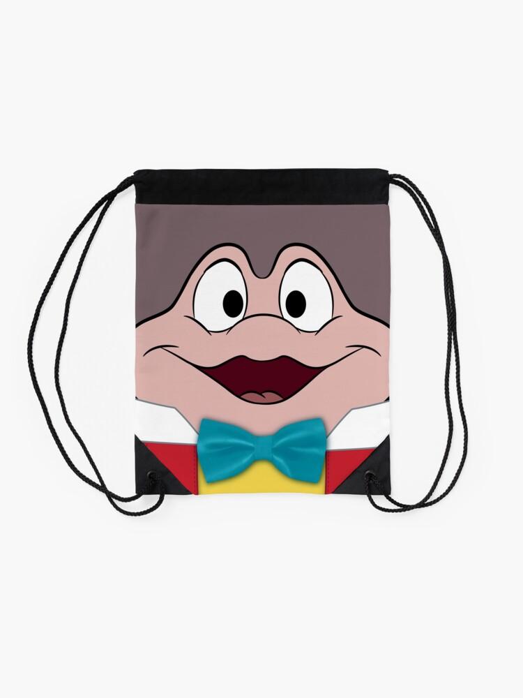 Alternate view of Mr. Toad Drawstring Bag