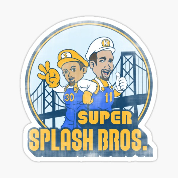 Super Splash Bros Pegatina