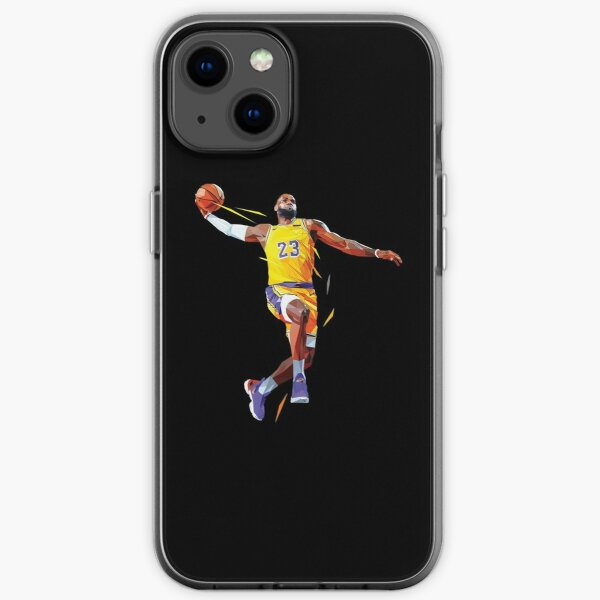 LeBron James lowpoly iPhone Soft Case
