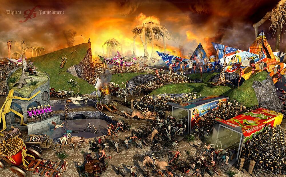 Triumph of Death III (Dawn of the Dead) by Polygonist
