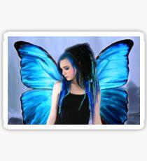 Blue Fairytale Sticker