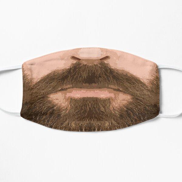 Mustache and beard Flat Mask