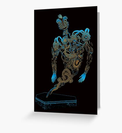 Tattoo Ghost's Ink Memories Greeting Card