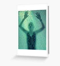 Drowning In My Own Skin Greeting Card