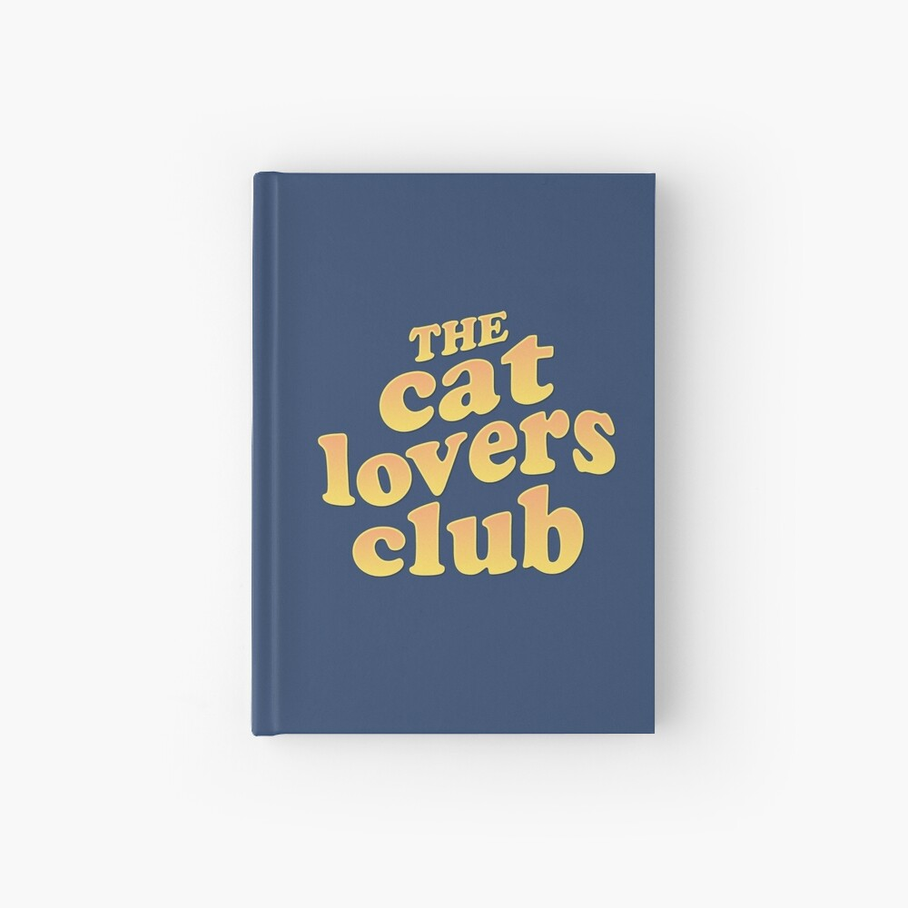 The Cat Lovers Club Hardcover Journal