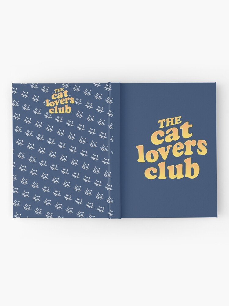 Alternate view of The Cat Lovers Club Hardcover Journal