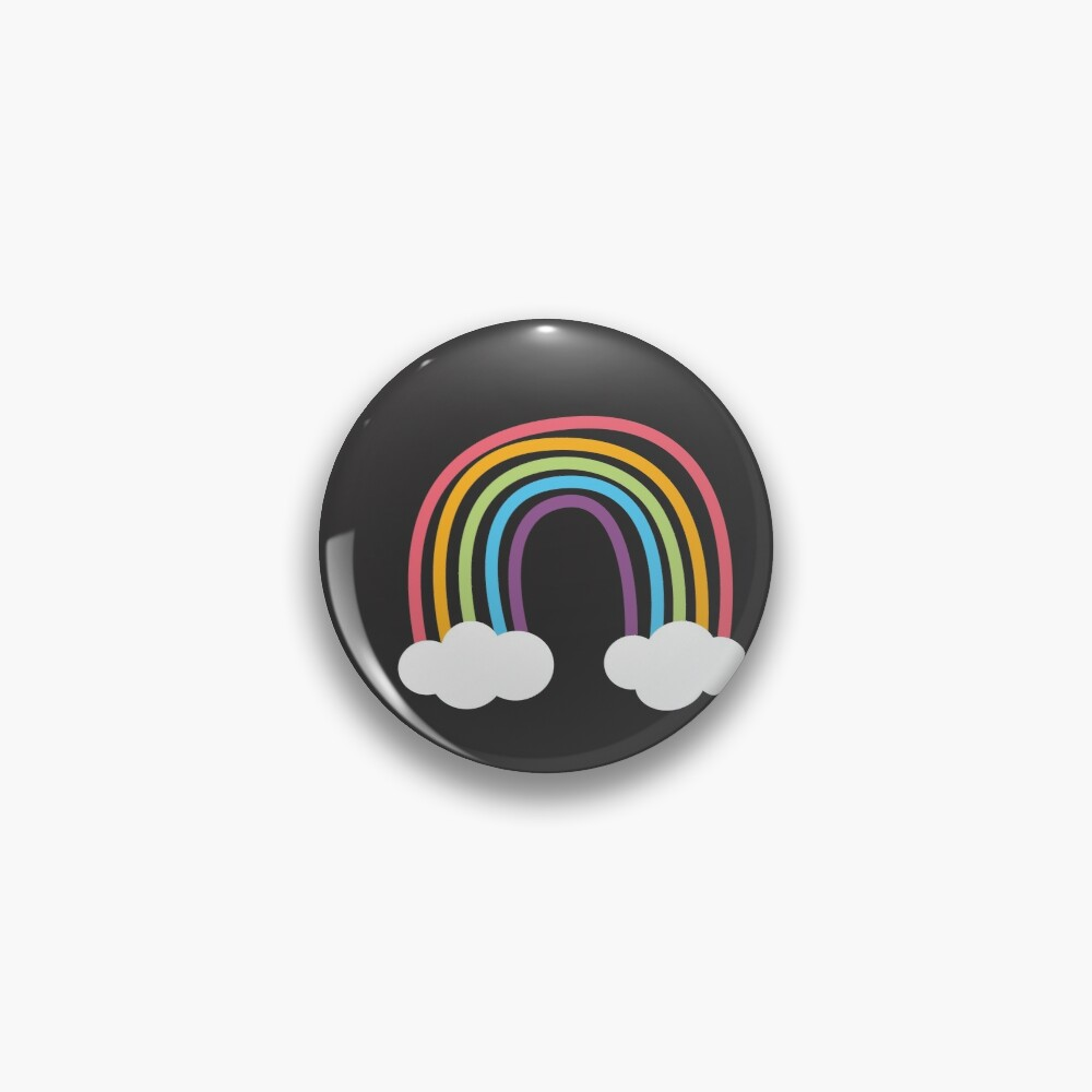 Colorful Rainbows  Pin