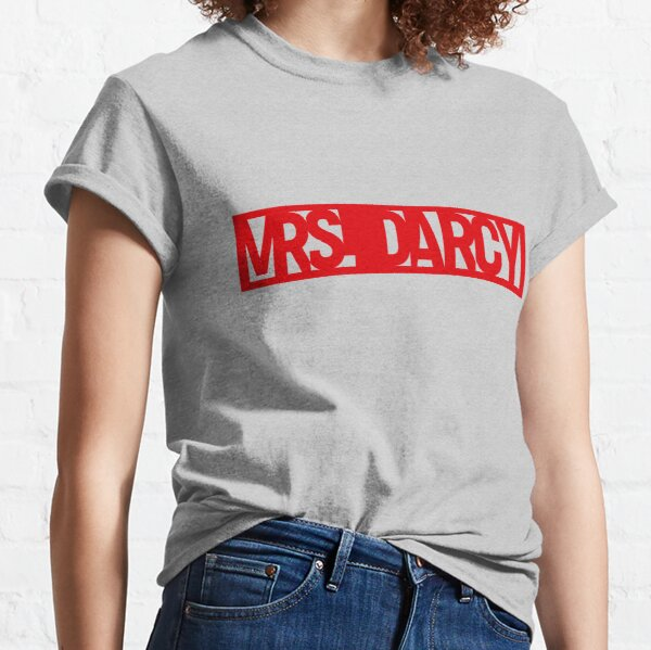 Call me Mrs Darcy Pride and Prejudice  Classic T-Shirt
