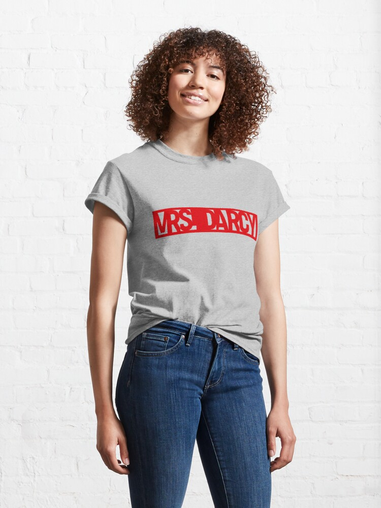 Alternate view of Call me Mrs Darcy Pride and Prejudice  Classic T-Shirt