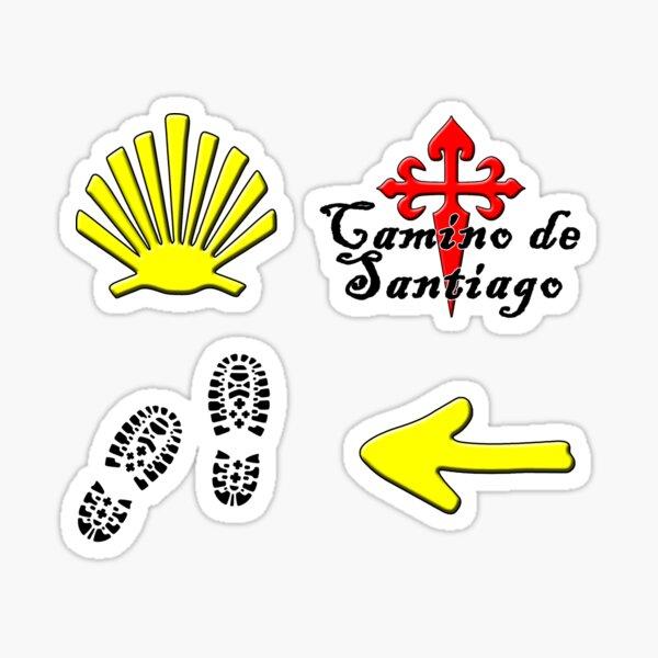 Camino de santiago Pegatina