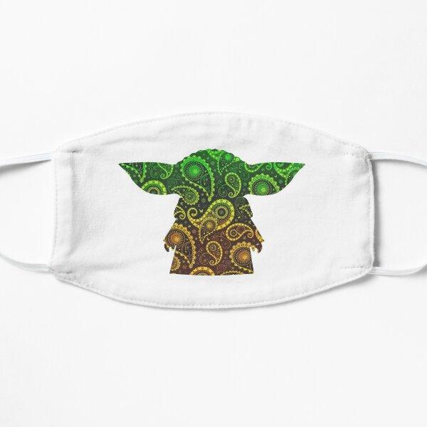 Teardrop Mandala Silhouette - Alien Forest -  White Background Mask