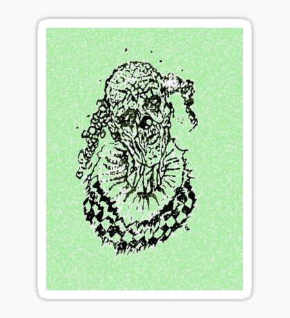 Galjermek Horror comics. Sticker