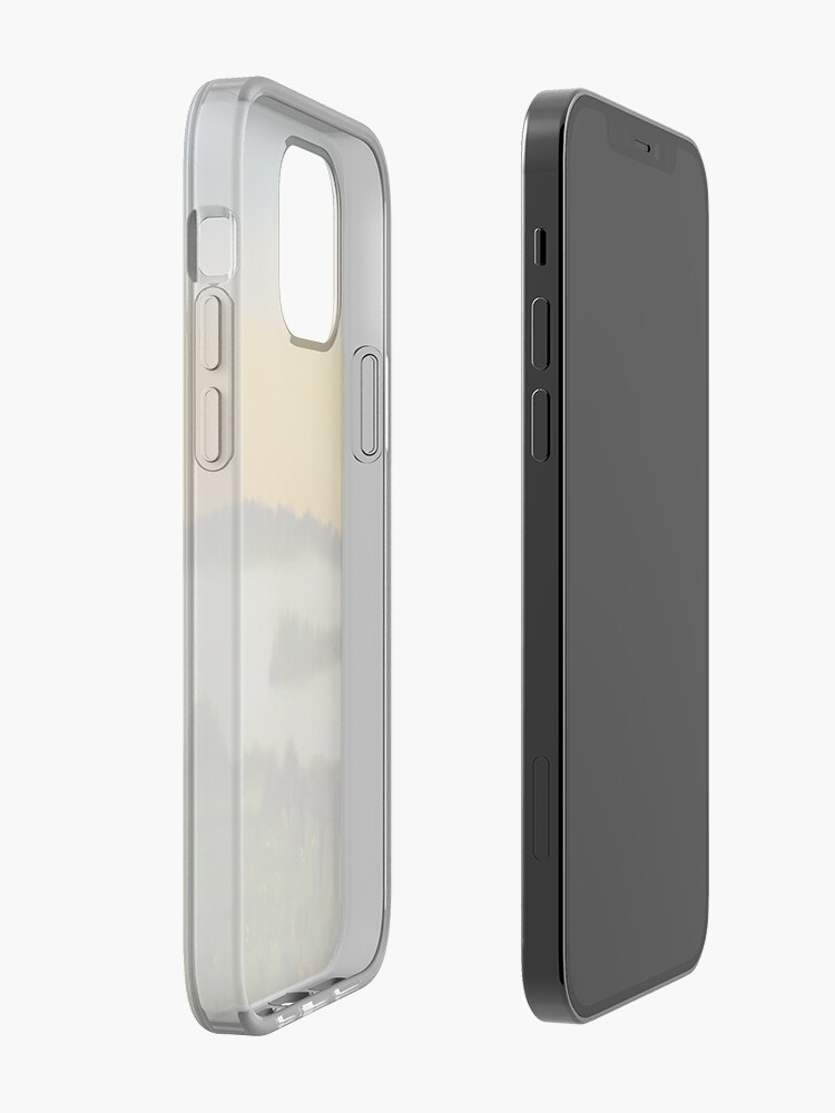 Alternate view of Morning Mist iPhone Case & Cover