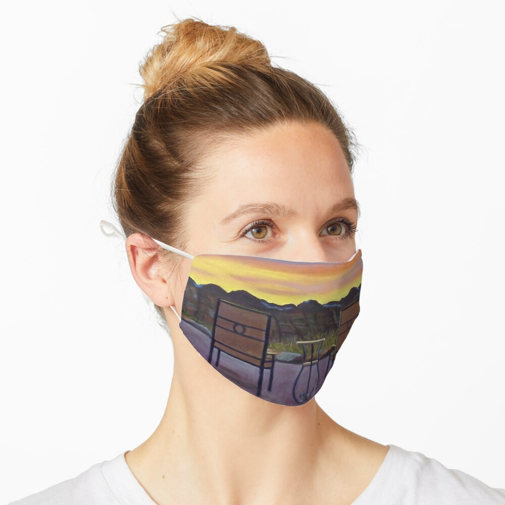 Mt. Zion Sunrise Mask