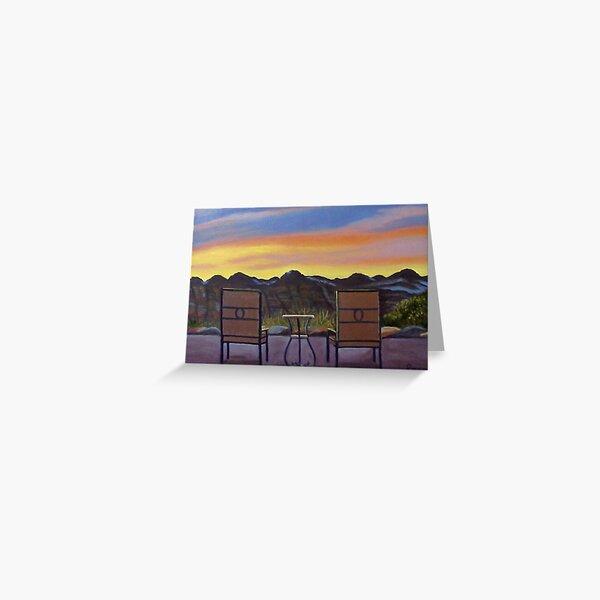 Mt. Zion Sunrise Greeting Card