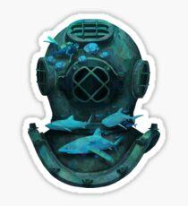Deep diving Sticker