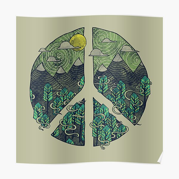 Peaceful Landscape Poster