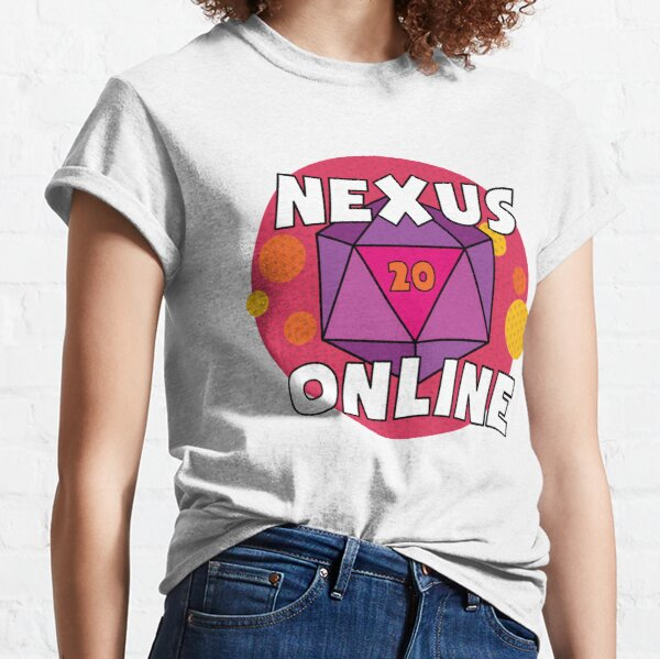 Nexus Online D20 - Pink Classic T-Shirt