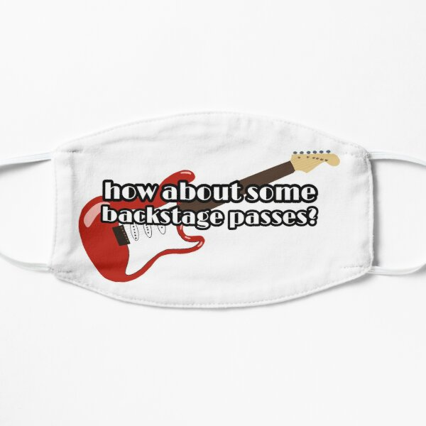 How about some backstage passes? Rock 'n' Roller Coaster Flat Mask